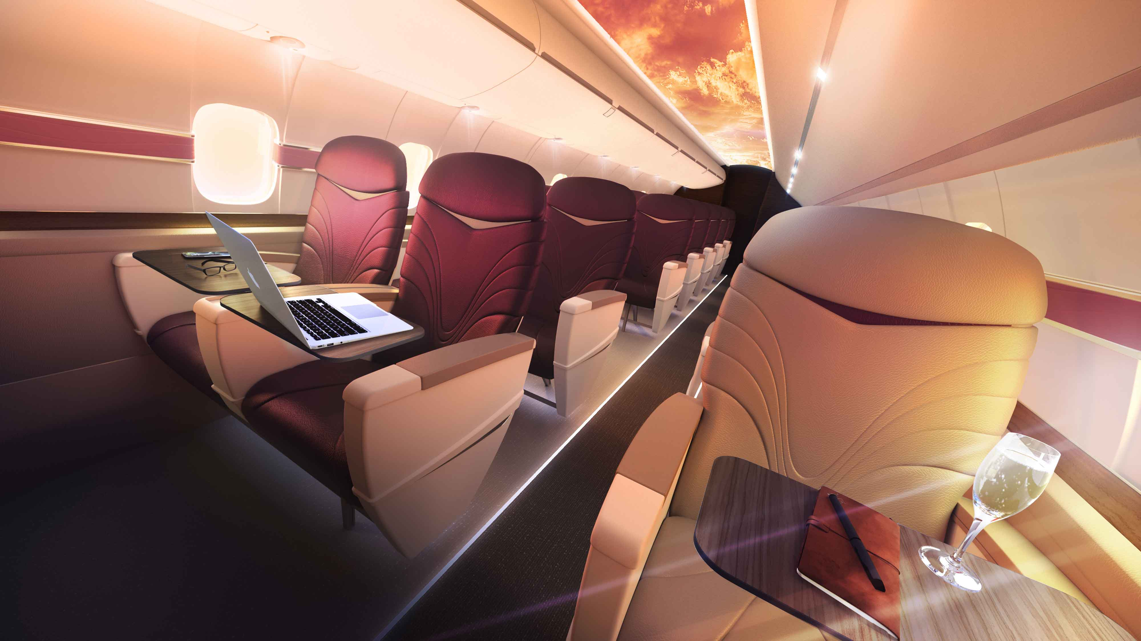 Ultra-deluxe First-Class for the Price of Coach?